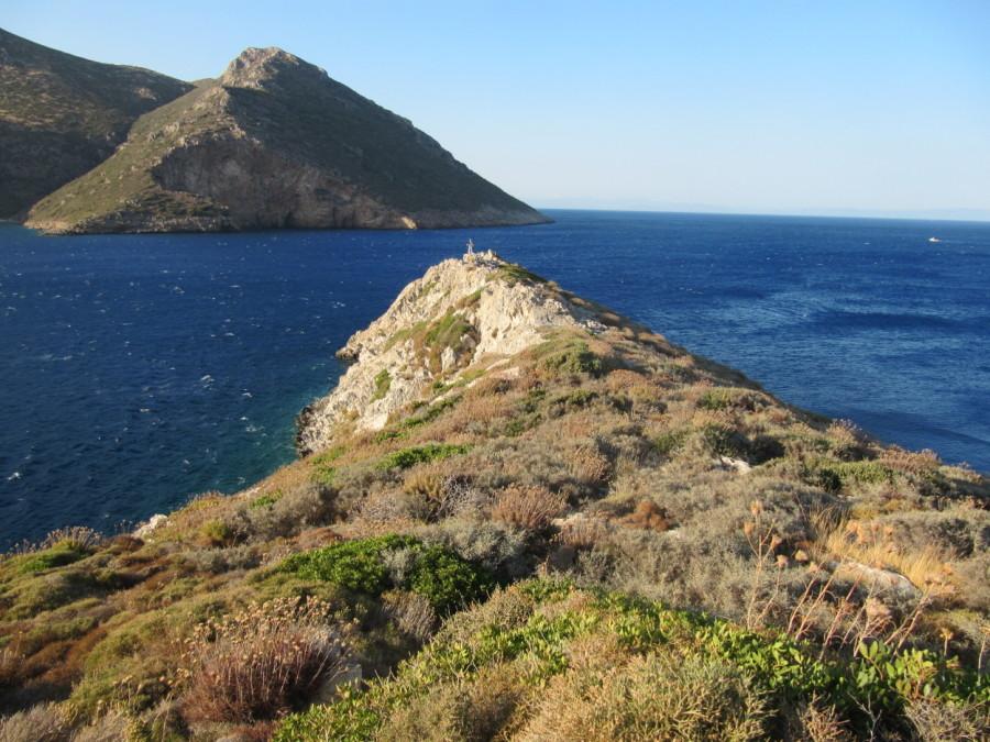 Porto Kayio - a windy place