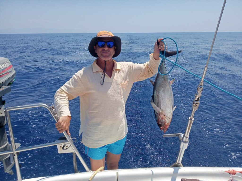 tuna fishing success