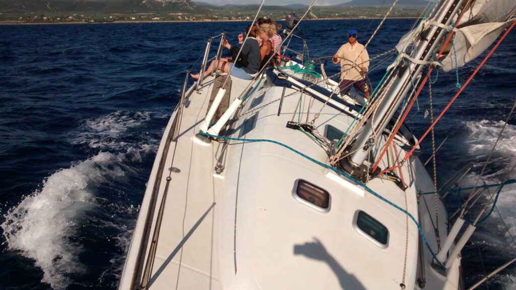 nice wind sailing